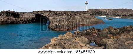Natural Arch And Light Beacon