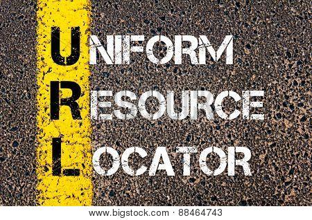 Business Acronym Url As Uniform Resource Locator
