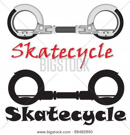 realistic modern Skatecycle vector object