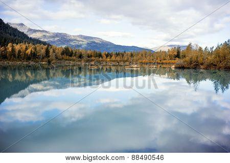 Anchorage Alaska State Parks in Autumn