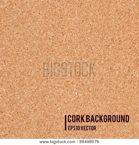 Realistic cork board texture