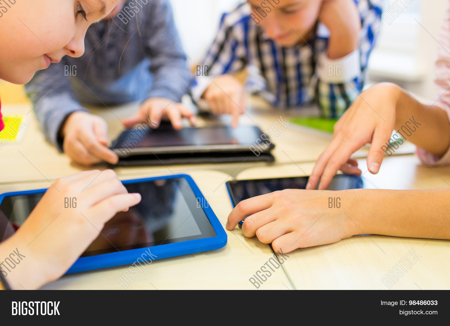Technology In Elementary Classrooms : Education elementary school image photo bigstock