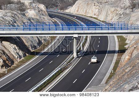 Overpass on highway