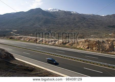 New highway in Croatia