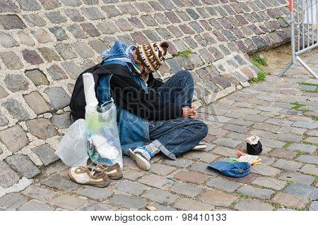 Begging For Money