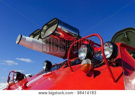 Special firefighter transportation