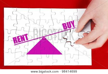 balance between rent and buy