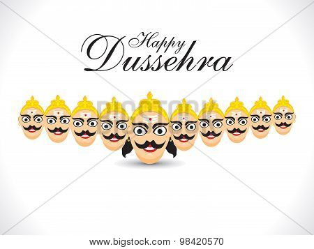 Abstract Funny Ravan Background