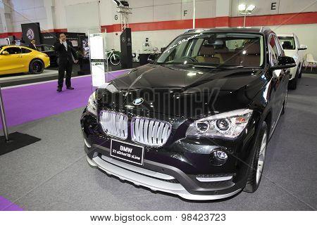 Bangkok - August 4: Bmw X1 Sdriver18I Xline Car On Display At Big Motor Sale On August 4, 2015 In Ba