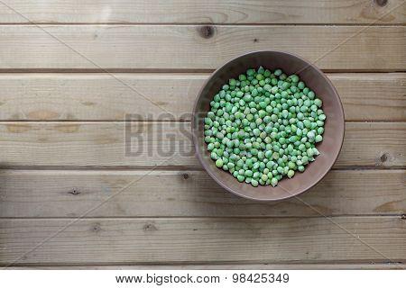 Green faba beans