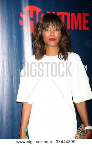 LOS ANGELES - AUG 10:  Aisha Tyler at the CBS TCA Summer 2015 Party at the Pacific Design Center on August 10, 2015 in West Hollywood, CA