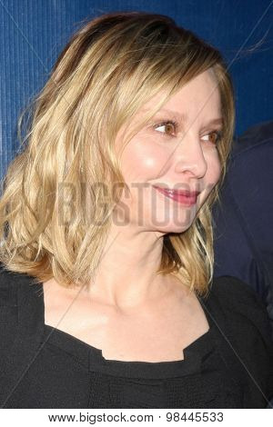 LOS ANGELES - AUG 10:  Calista Flockhart at the CBS TCA Summer 2015 Party at the Pacific Design Center on August 10, 2015 in West Hollywood, CA