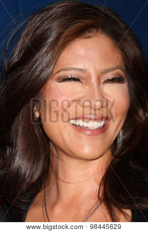 LOS ANGELES - AUG 10:  Julie Chen at the CBS TCA Summer 2015 Party at the Pacific Design Center on August 10, 2015 in West Hollywood, CA