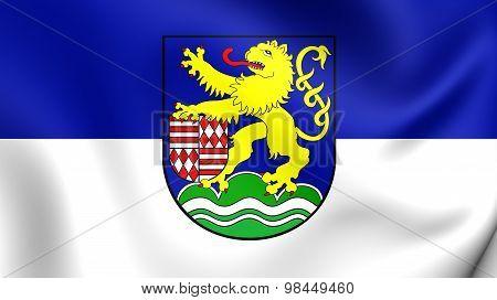 Flag Of Kyffhauserkreis District, Germany.