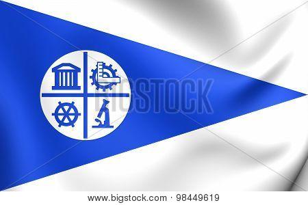 Flag Of Minneapolis City, Minnesota.