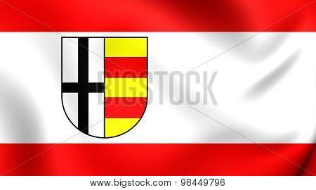 Flag Of Olpe Kreis, Germany.