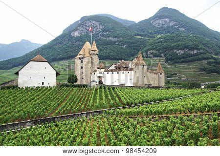 Aigle Castle. Switzerland