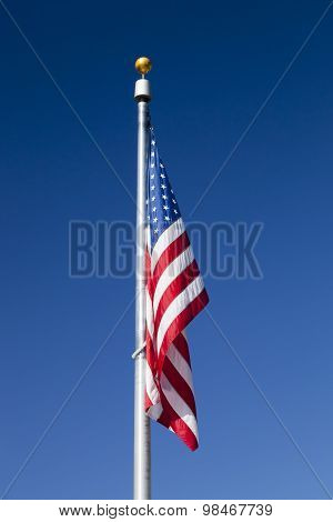 Usa Flag In The Sky