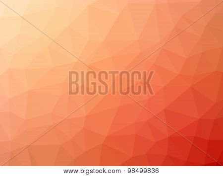 Gradient Pink Red Polygon Shaped Background