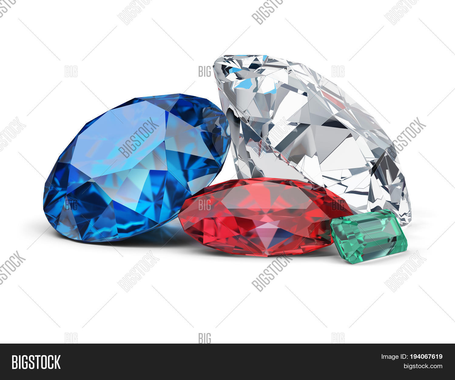 premium nine set diamond a emerald of topaz ruby gems royalty shutterstock avopix free photo sapphire
