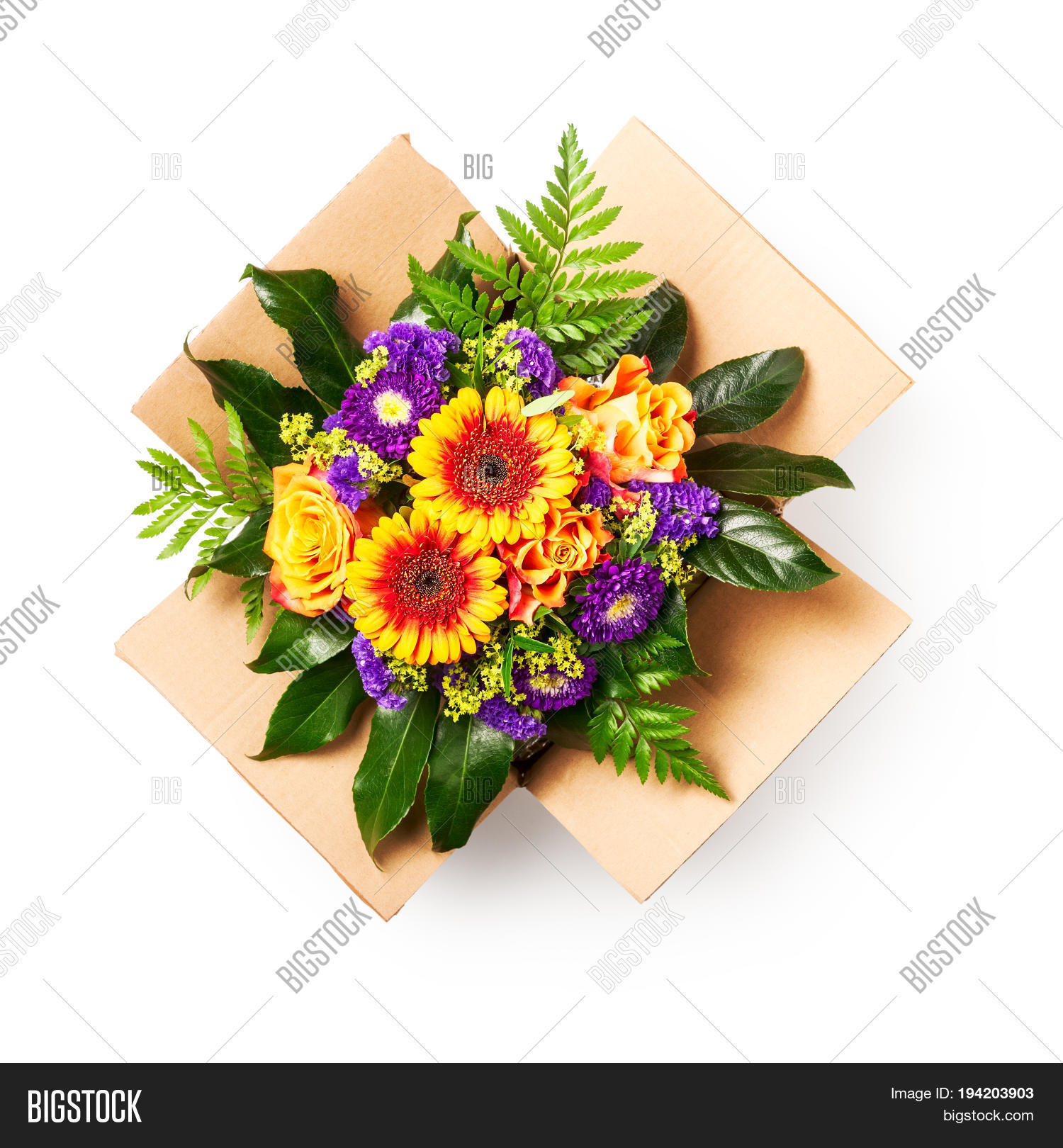 Flower Delivery Image Photo Free Trial Bigstock