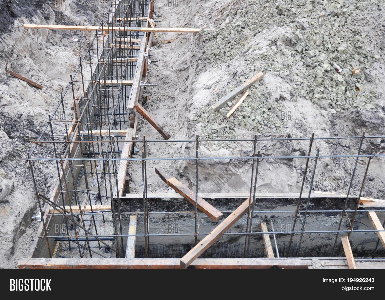 Building Foundation Image Photo Free Trial Bigstock