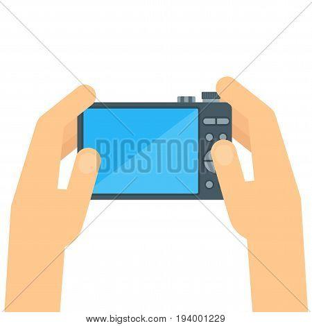 Photo Camera Hand