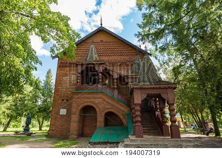 Medieval Russian Nobility Palatial Salles And Chambers, Uglich, Russia