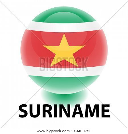 Orb Suriname Flag