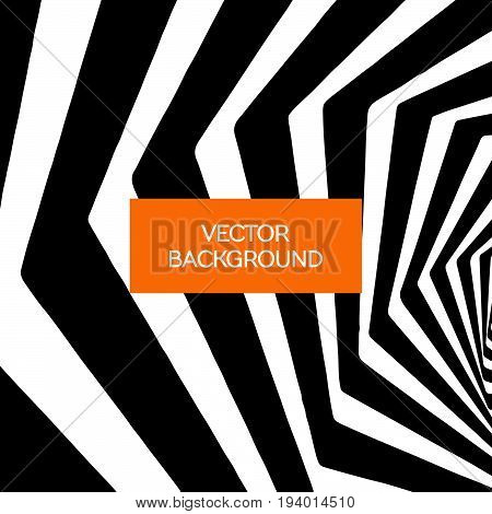 Spiral  Lines Vector Abstract Background
