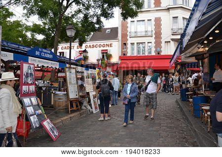 Montmartre Artists, Paris