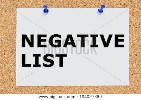 Negative List Concept