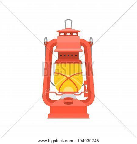 Hurricane lantern, chinese style lanterns, flat design