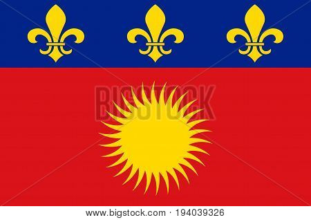 Flag of Basse-Terre is a French commune in the Guadaloupe department of France in the Lesser Antilles.