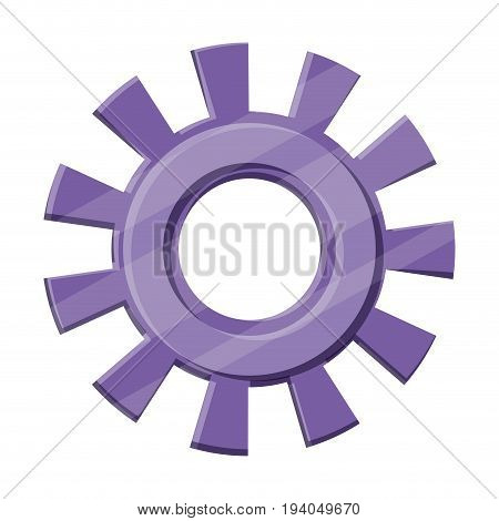 color silhouette of pinions model one vector illustration