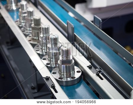Operator Inspection Dimension Of Cnc Turning Parts