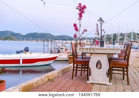 Restaurant In The Port