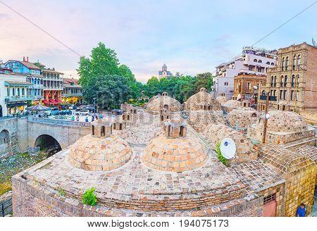 The Balneological Resort Of Tbilisi