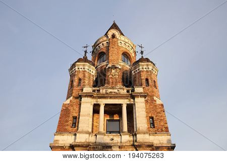 Millennium Tower on Gardos hill in Zemun, Belgrade, Serbia