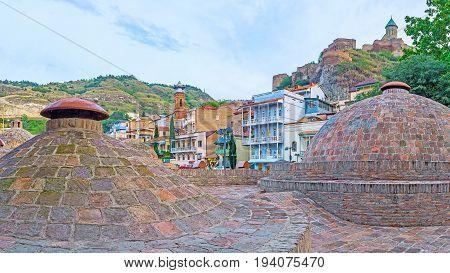 Baths In Old Tbilisi