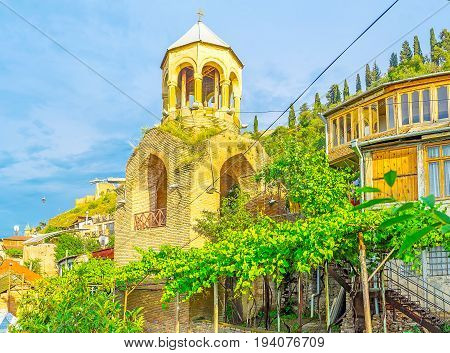 The Upper Betlemi Church In Tbilisi