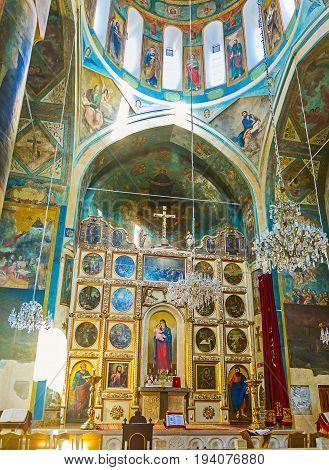 In Surb Gevorg Church In Tbilisi