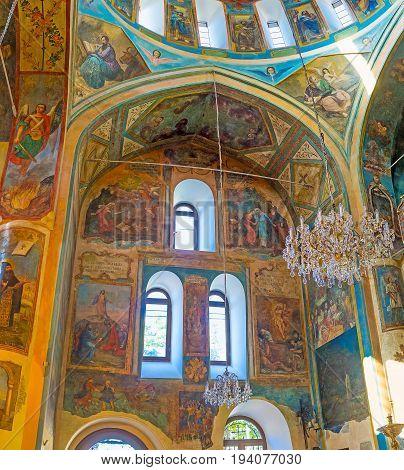 Interior Of Surb Gevorg Church In Tbilisi
