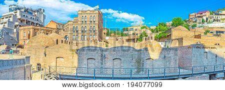 The Royal Sulfur Baths In Tbilisi
