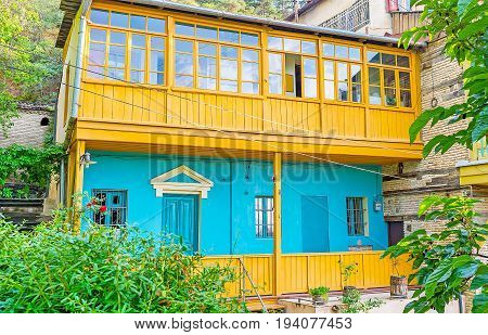 The Colorful Townhouse In Old Tbilisi