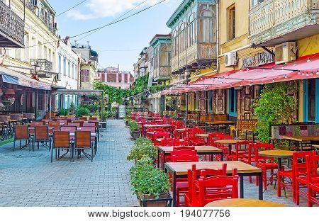 Kala District Of Tbilisi