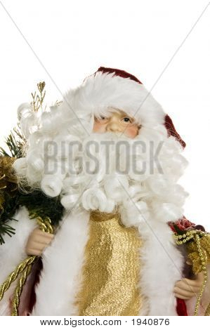 Close Up Santa Figure