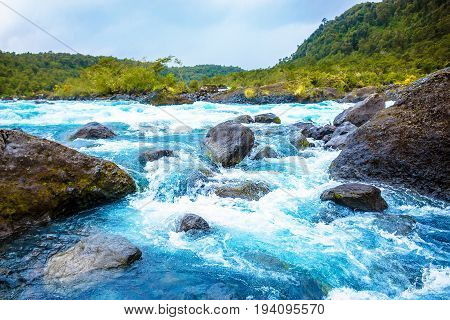 Clear Blue Mountain River