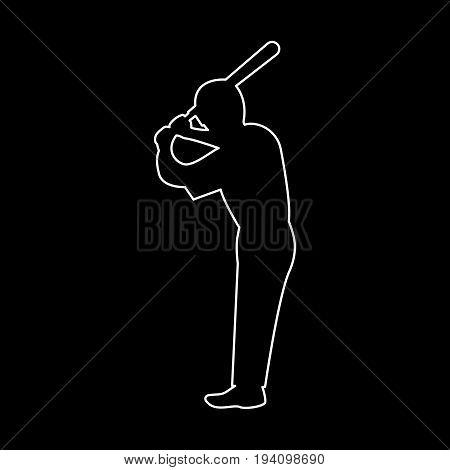 Ballplayer   The White Path Icon .