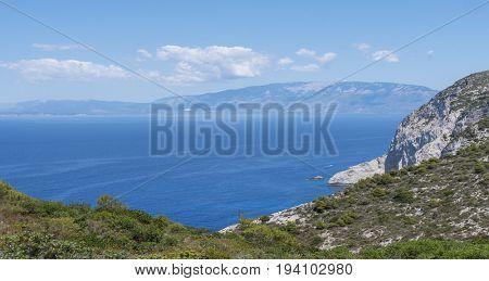 Zakynthos island sightseeing point Greece,